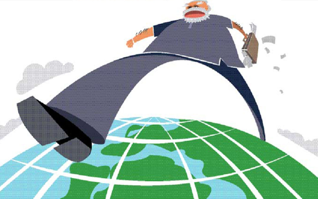 One Year of Narendra Modi govt: Bold moves on world stage   The Indian Express